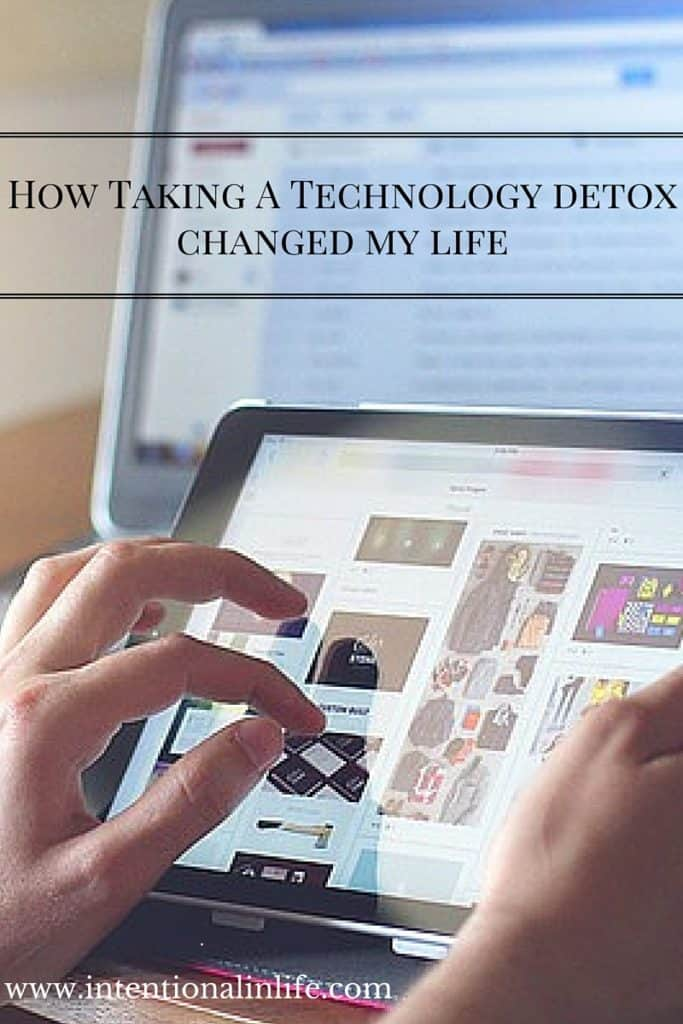 I did a 7 day Technology Detox Challenge and it changed my life! Come and see what I have learned and why I think everyone should take the challenge.