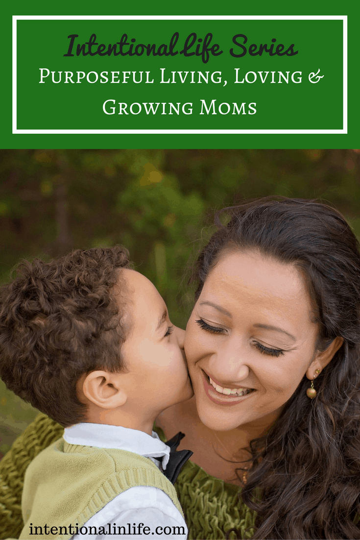The Intentional Life Series For Moms - Purposeful Living, Loving & Growing Moms will give you encouragement, tips and so much more to live out a life of purpose.