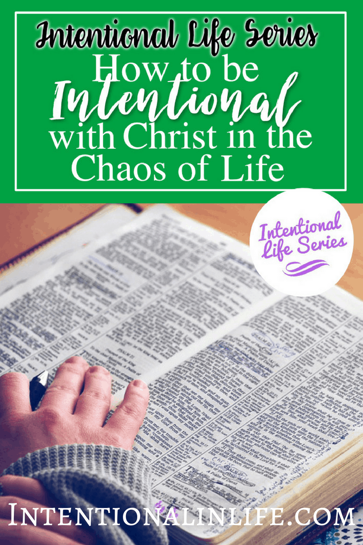 Life happens...am I right!? Come see what my latest guest Rhiannon has to share about being intentional with Christ in the Chaos.
