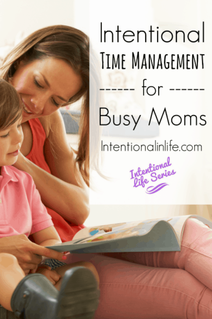 As busy moms we spend our days wearing different hats as we try to manage our time. Here are practical ways to be intentional with managing your time.