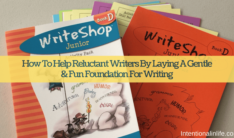Do you want to know how to help reluctant writers write again? Come and read my thoughts on how WriteShop writing curriculum would be a great fit for your reluctant writer.