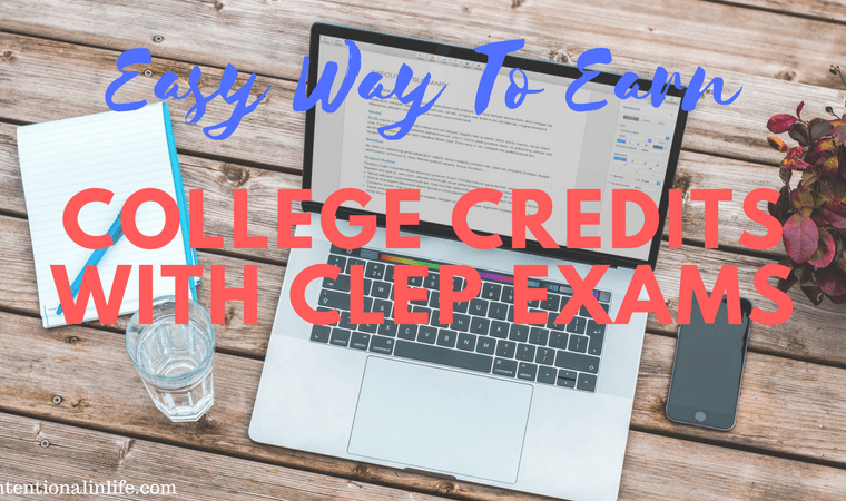 Are you looking for an easy way for your homeschool high school student to earn college credit? If your answer is yes, let me share with you about CLEP exams. By taking CLEP exams you will be able to earn college credits as well as save you hundreds of dollars.