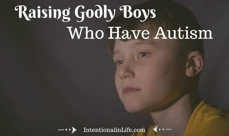 Have you considered how Autism will affect your child's faith? If you haven't, you really ought to! Here are three ways I think you can encourage and reinforce your child's faith in God.