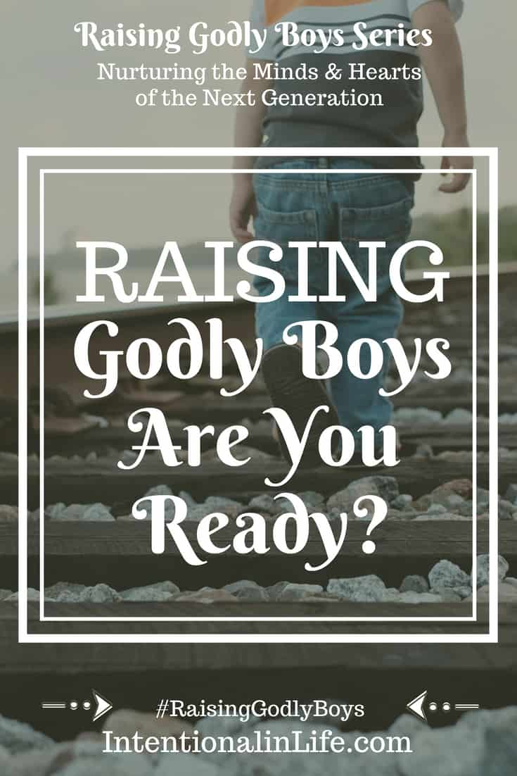 Are you ready to raise Godly boys? Have you ever felt being a motheris like experiencing the heart of God? I have felt like that so many times, from the moment I saw my littleone's innocent face.