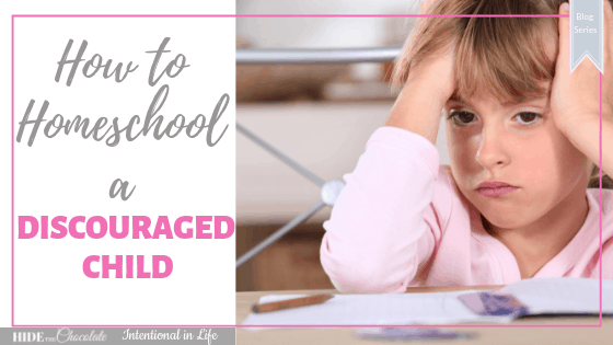 Homeschooling a discouraged child can be difficult but it doesn't have to be. Here are 7 practical steps on how to homeschool a discouraged child.