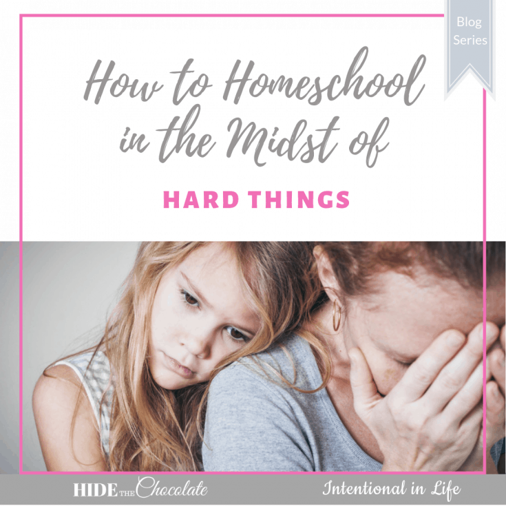 Need some homeschool encouragement? 20+ Contributors are coming together to share their stories on how they homeschool in the midst of hard things.