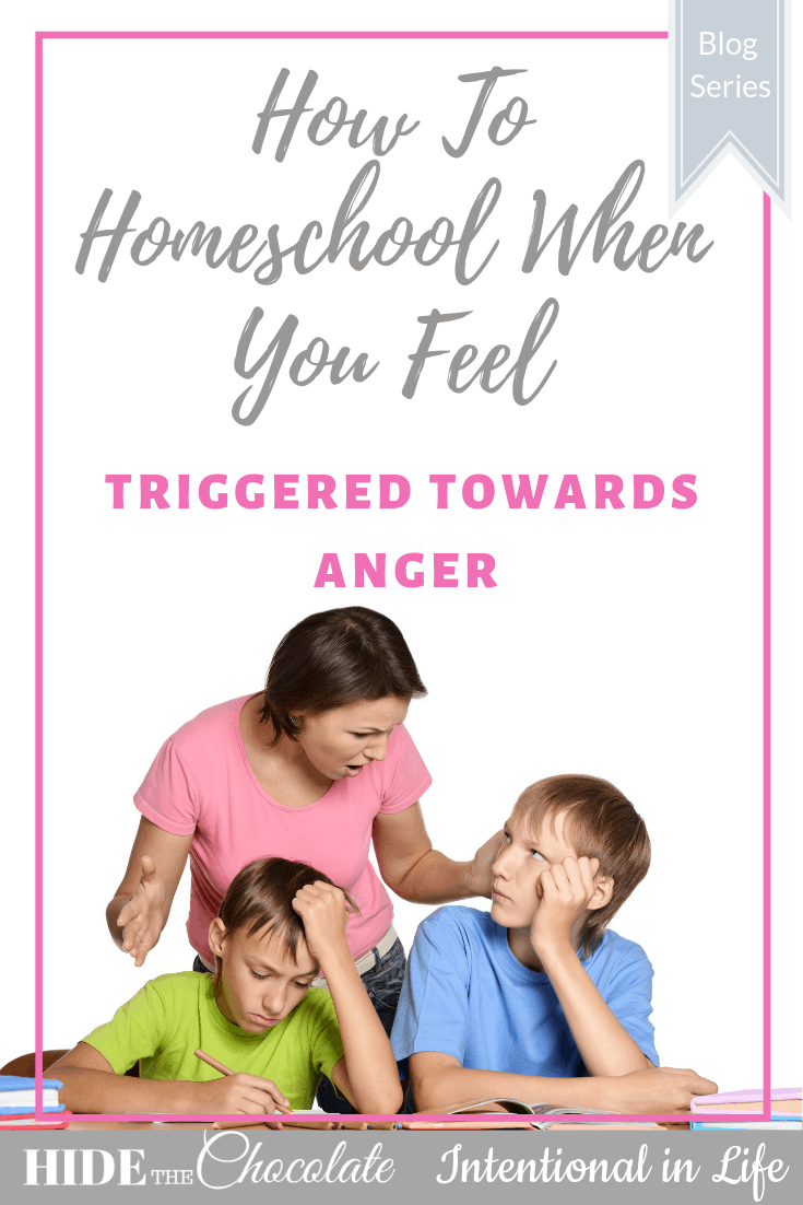 Amber Lia talks about triggers in our homeschool and practical ways on how not to let anger affect our relationships with your children.