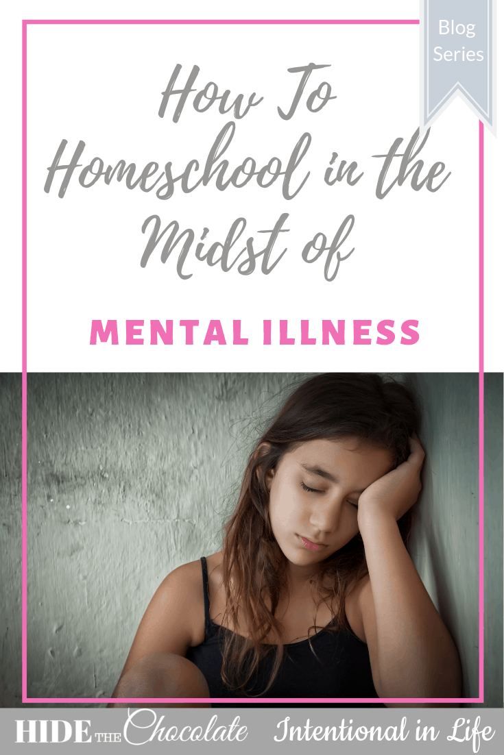 God can give us strength and provide wisdom, discernment, peace and help even when homeschooling in the midst of mental illness.