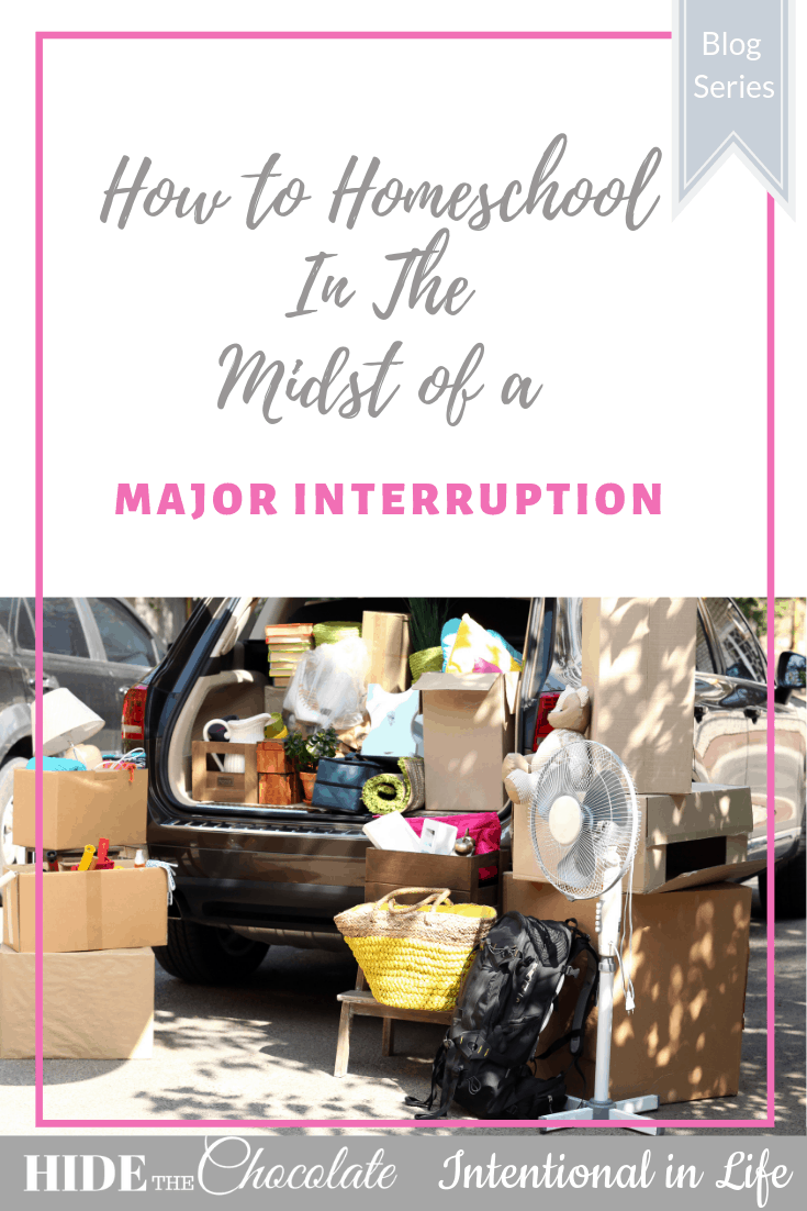 Are you in the midst of a major interruption? Or struggling with the need to meet your own expectations? Momma, you're not alone.