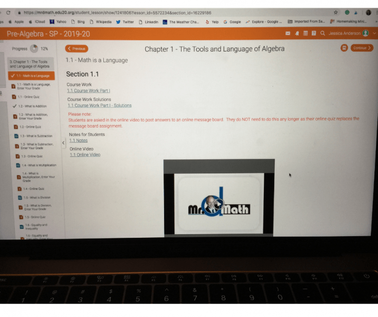Are you looking for a a math course that your highschool student will love? Let me tell you about Mr. D Math for homeschoolers. You are going to love it!