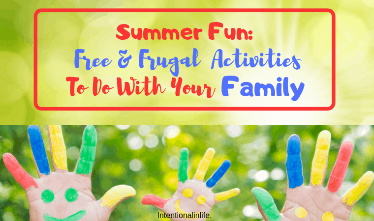 Are you looking for a way to make this summer unforgettable? Here is a list of free and frugal summer fun activities that you can do as a family this summer.#summerfunideasforkids #summeractivitiesforkids #summerfunforfamilies