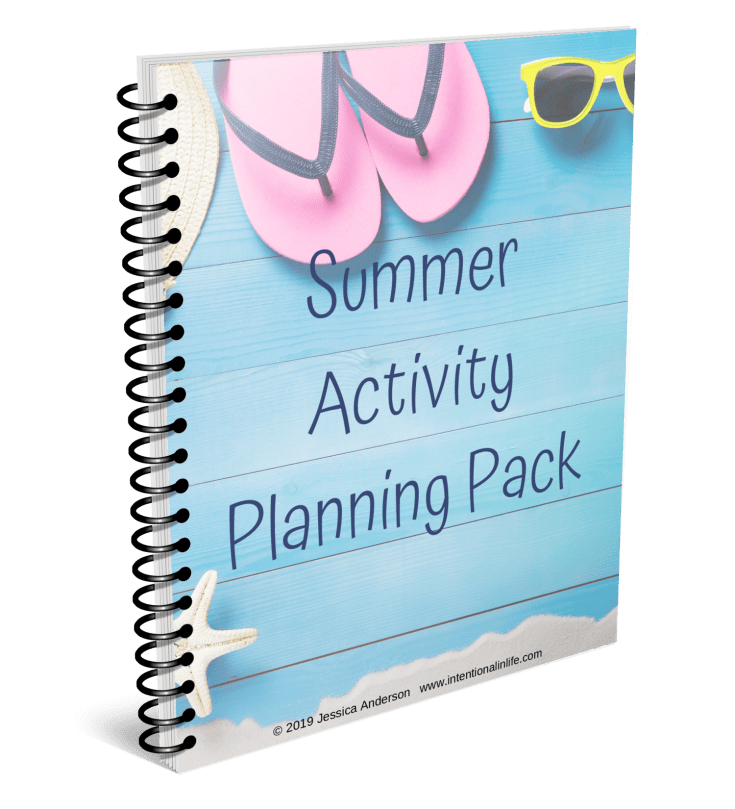 Are you looking for a way to make this summer unforgettable? Grab your Summer Activity Planning Pack to get started in having a fun and intentional summer. #summerfunideasforkids #summeractivitiesforkids #summerfunforfamilies