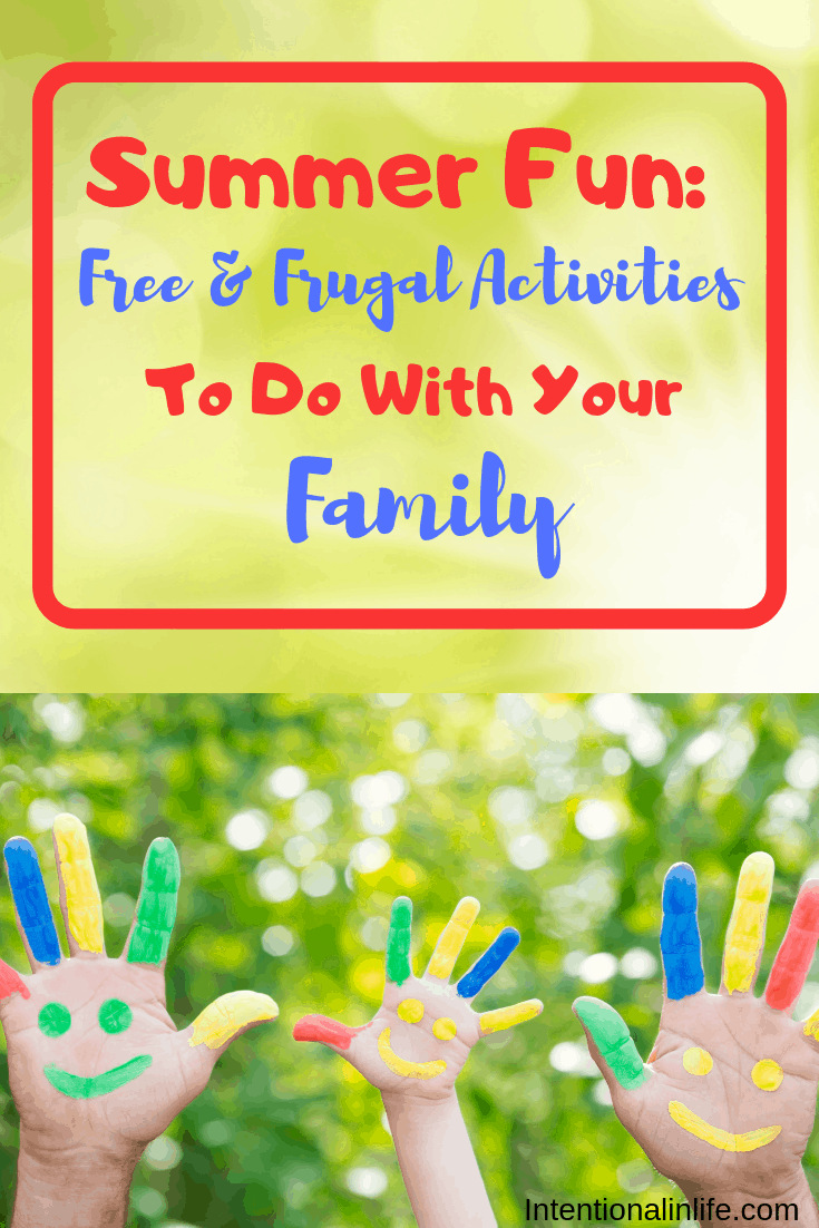 Are you looking for a way to make this summer unforgettable? Here is a list of free and frugal summer fun activities that you can do as a family this summer. #summerfunideasforkids #summeractivitiesforkids #summerfunforfamilies