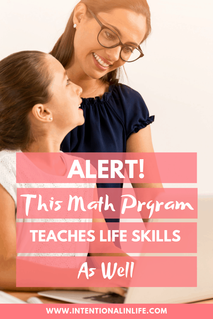 Let me share with you the math program that also teaches life skills. I share 3 important life skills that CTCMath can help your child with. #CTCMath #Mathcurriculum