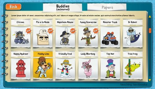 Teaching Textbooks 4.0 Buddies Screenshot